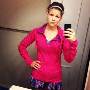 Not really sure about my 5am tempo run.